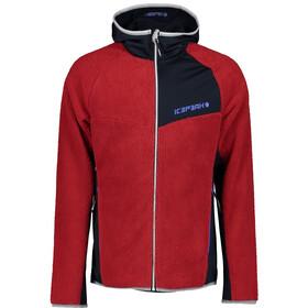Icepeak Danby Midlayer Jacket Men, rood